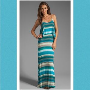 KARINA GRiMALDI Vera Maxi Long Print Dress XS